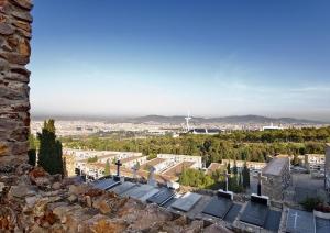 Vista del Cementiri de Montjuic