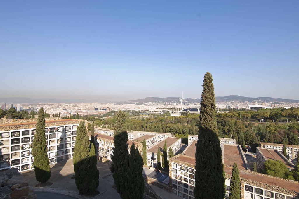 Vista del cementiri de Montjuïc