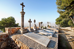 Tombes del cementiri de Montjuïc