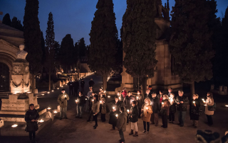 Ruta Nocturna- Cementerio de Montjuïc
