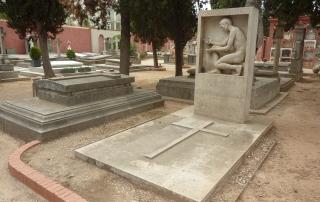 Tomba Carles Riba Clementina Arderiu