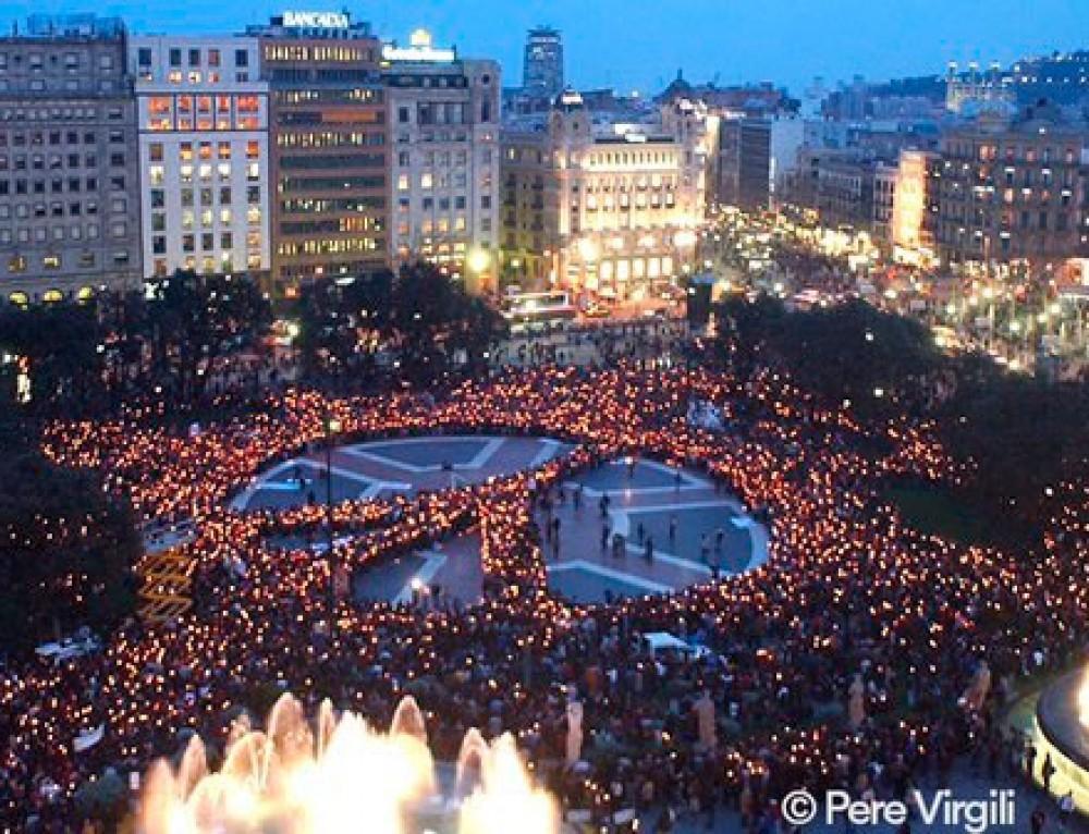 Cementiris de Barcelona es solidaritza amb les víctimes dels atemptats