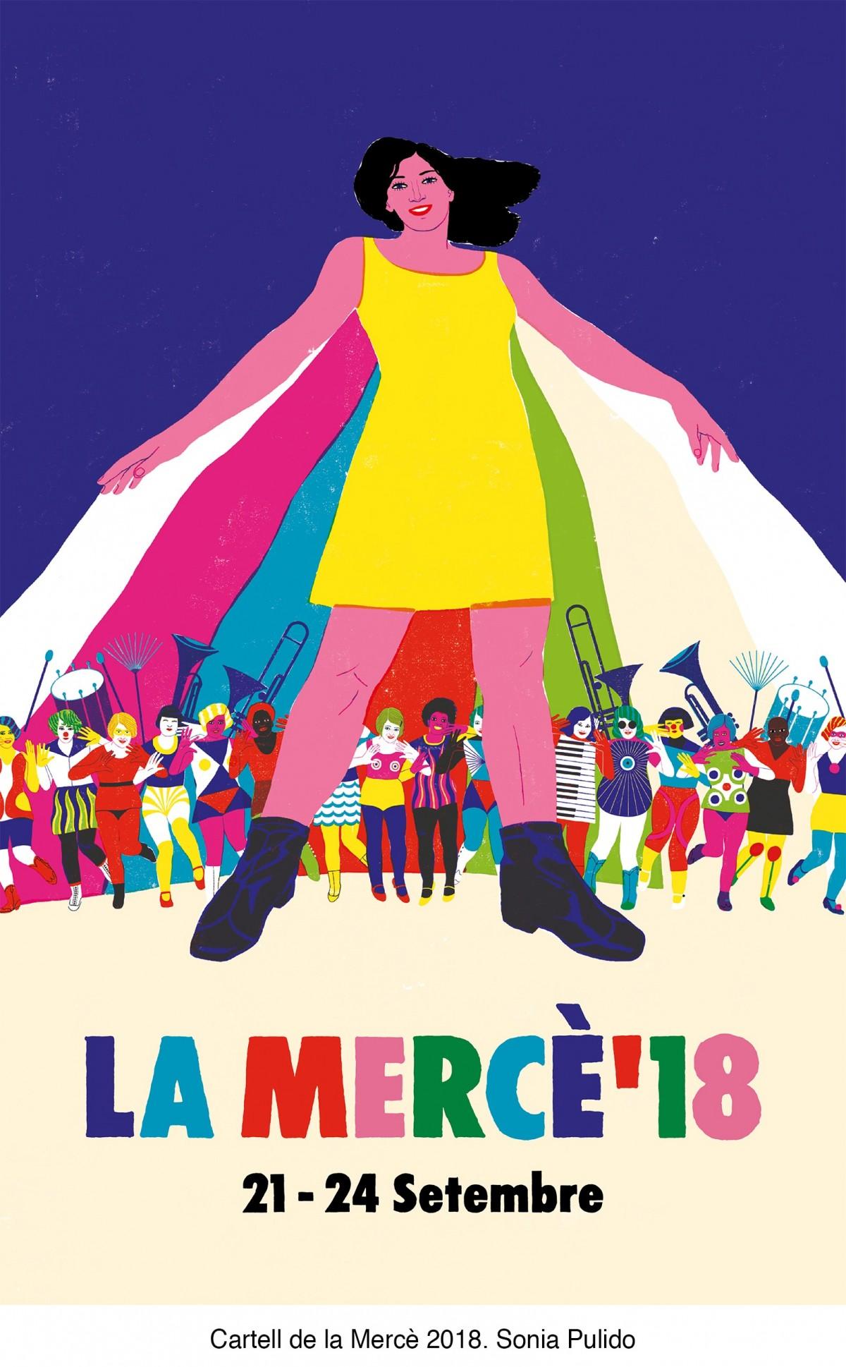 CARTELL DE LA MERCÈ 2018
