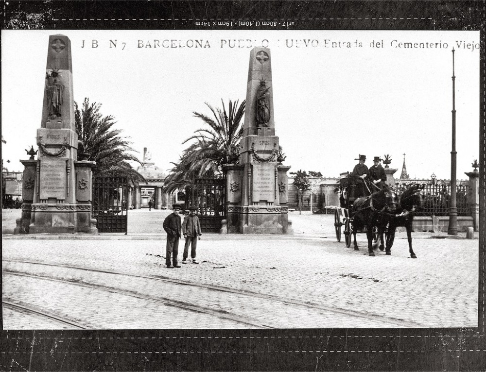 We celebrate the 200th anniversary of the cemetery of Poblenou