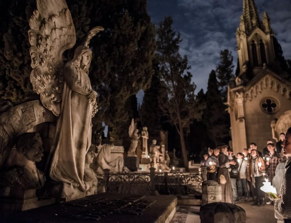 Savethedate – Ruta nocturna del Cementerio de Montjuïc.