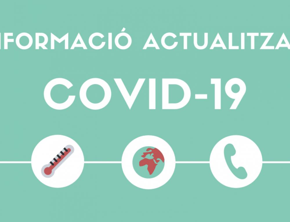 Mesures de prevenció i contenció COVID-19 als cementiris de la ciutat