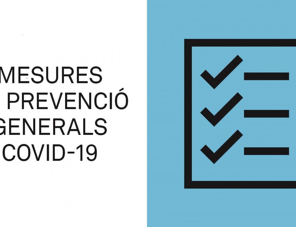 Mesures de prevenció generals Covid-19  als 9 cementiris de la ciutat