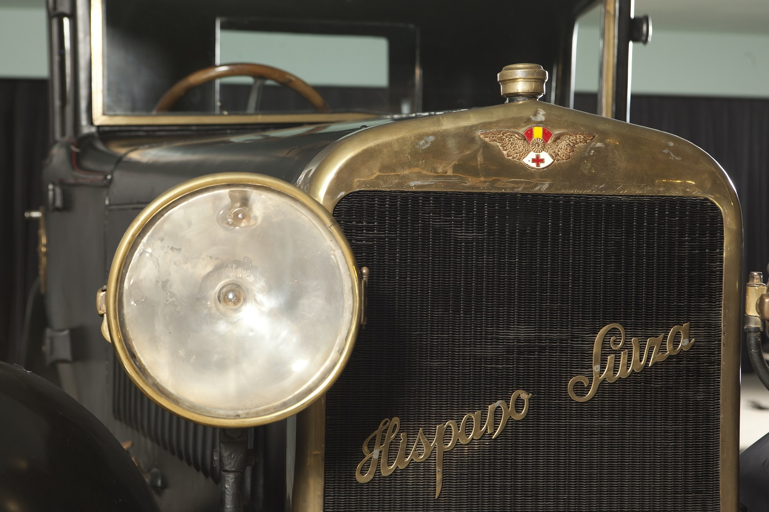 Part frontal Hispano Suiza